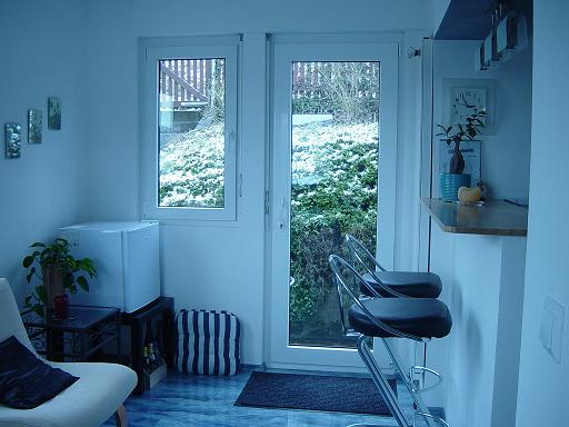 haus baselblick zimmervermietung k che esszimmer anbau. Black Bedroom Furniture Sets. Home Design Ideas